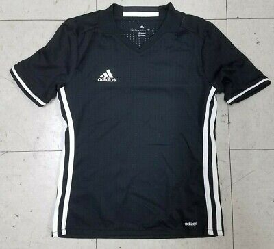 27d1ca4d51e Adidas Youth Kids Black Jersey New Without Tags Size Small