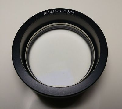 Leica Wild 0.32x Objective Lens Mz Ms Mz6 Ms5 M3z Microscope Wd297mm Tested