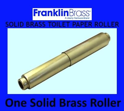 Franklin Brass Toilet Paper Holder Roller Replacement With Spring - Antique - Toilet Paper Holder Antique Brass