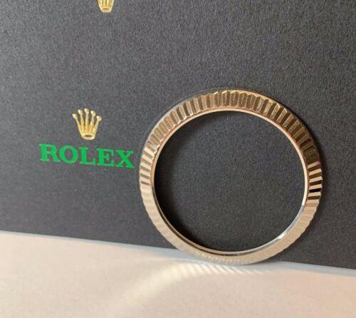 Rolex Datejust Ii 2 Men's 18k White Gold Fluted Bezel Oyster Model: 116334