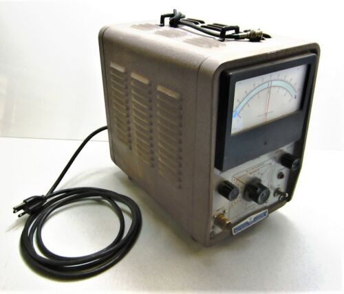 Hewlett Packard HP 425A DC Micro Volt-Ammeter