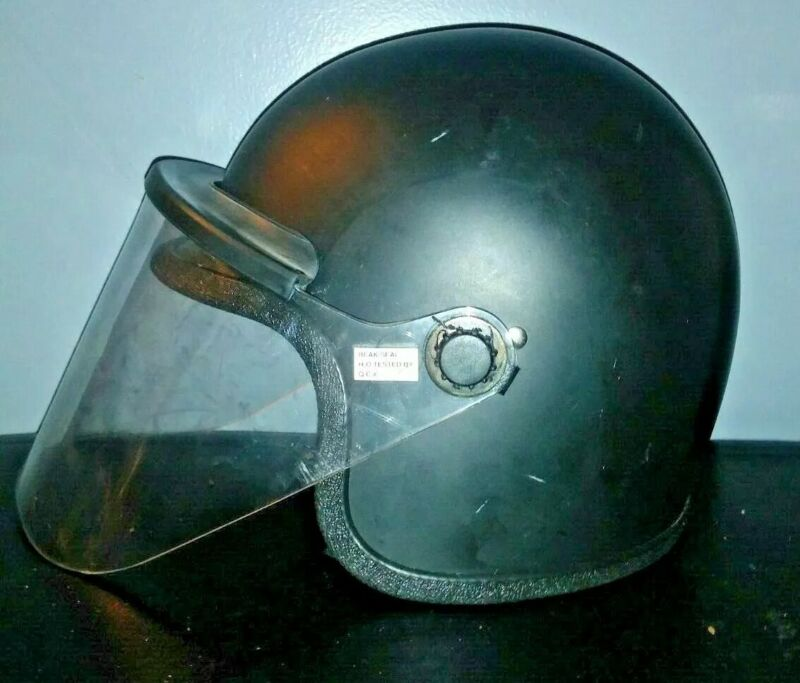Riot Helmet  S1611 600 Super Seer Crowd Control Tactical Police Issue prepper