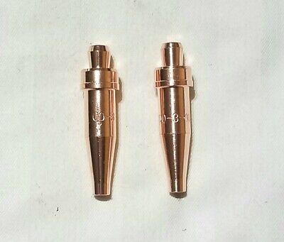 New Victor Style 00-3-101 Acetylene Cutting Torch Tip Lot Of 2 Ca1350 Cst800