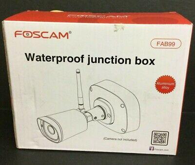Foscam Outdoor Weatherproof Waterproof Security Junction Box Fab99 Silver
