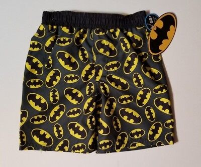 BATMAN Toddler Boys 2T 3T4T 5T Shorts SWIM TRUNKS NEW W TAGS SHIPS FAST!