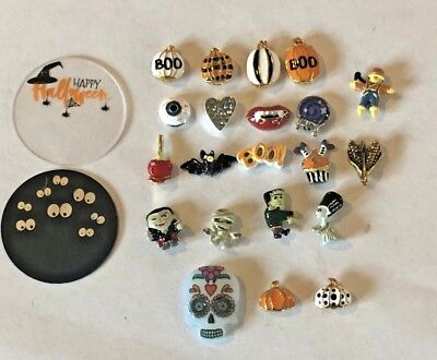 Origami Owl Charms  New 2018 Halloween Ship Free Buy 4+ Save $2 (Owl Halloween)