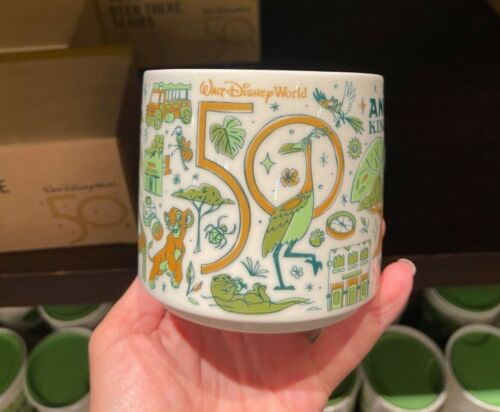 New 2021 Starbucks Disney World 50th Animal Kingdom Been There Series Mug