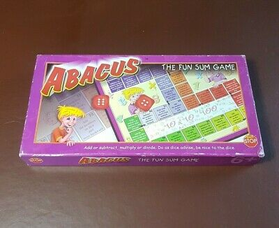 Abacus, the fun sum game, ages 6+ 2-4 players, (Fun Abacus)