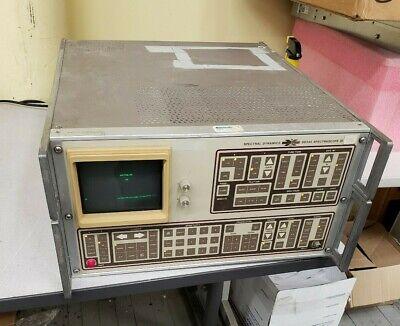 Spectral Dynamics Spectrascope Iii Sd345 Spectrum Analyzer
