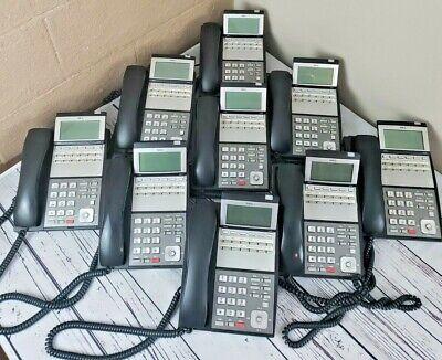 9 Nec Dlvxdz-ybk Office Telephone Ip3na-12txh Telbk 12 Line Phone Tested