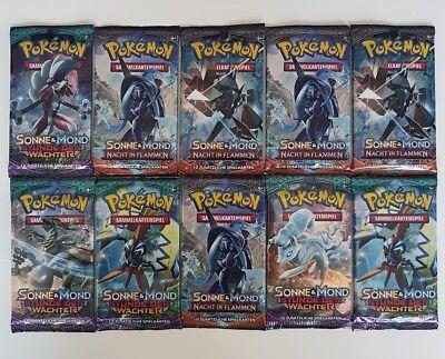 Pokemon Karten Booster Deutsch 10x Neu