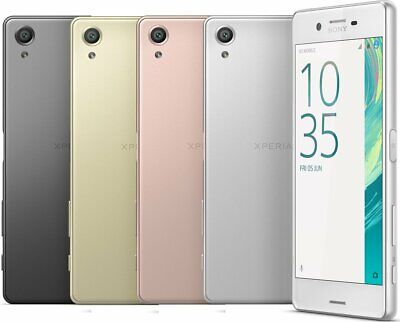 "Neu *Ungeöffnet*  Sony Xperia X F5121 5.0"" Smartphone/Graphite Black/32GB"