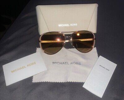 Michael Kors Womens Gold/rose Gold/beige/pink Aviators