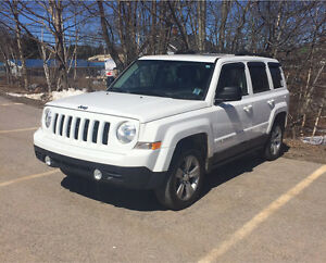 White Jeep Patriot North