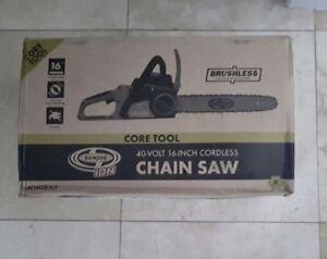 Sun joe chainsaw battery powered