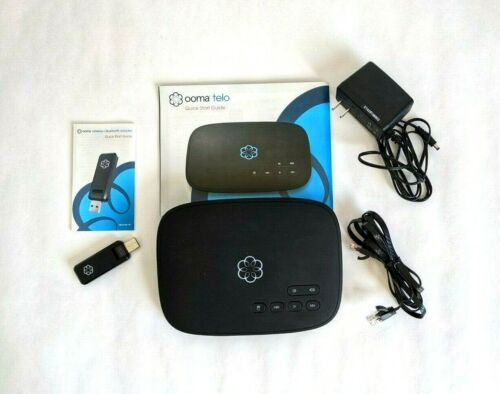 Ooma Telo Air VoIP Free Home Phone Service with Wireless and Bluetooth Adapter
