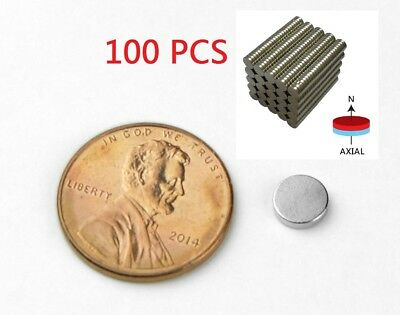 100 Strong Rare Earth Neodymium Disc Magnets 14 X 116 Inch Fridge Label Holder