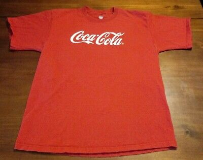 Coca-Cola Red  T-shirt Large Soft Drink My Coke Rewards