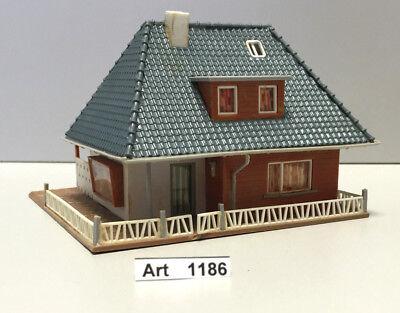 Faller B-250 H0 Rustikales Haus, Bungalow, fertig geklebt,1:87,sehr selten & RAR