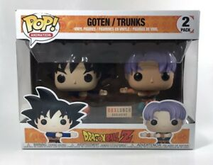 Dragonball Z Goten Trunks Gotenks Lunch Box Funko POP Exclusive