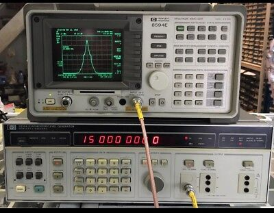 10hz-20.9mhz Sweep Signal Generator 3336a Hp