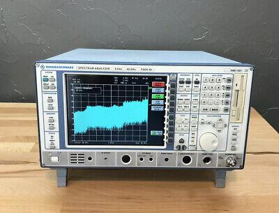 Rohde Schwarz Fsek20 Spectrum Analyzer Vsa 9 Khz To 40 Ghz Option B4 B7