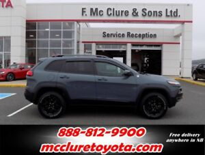 2015 Jeep Cherokee Trailhawk Leather