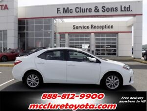 2015 Toyota Corolla Sport New tires