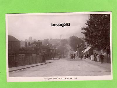 Victoria Street St Albans unused RP pc Ref A748