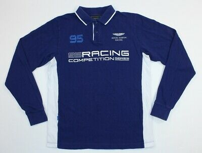 Youth Aston Martin Racing Hackett 95 Racing Competition Series Shirt Long Sleeve