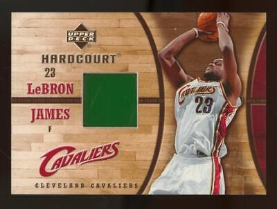 2006 Upper Deck Hardcourt LeBron James Floor
