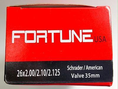 - 1 Inner Tube 26x2.125 2.10 MTB ATB American Schrader Regular Valve 26
