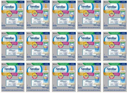Similac Pro-Advance Infant Formula Non-GMO DHA EXP 6/21 - Lot of 15 (60 x 2 oz.)