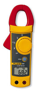 Fluke 322 Clamp-On Digital Multimeter, 400A, 600V