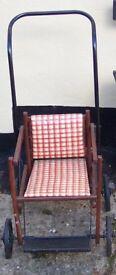 1950's folding pushchair