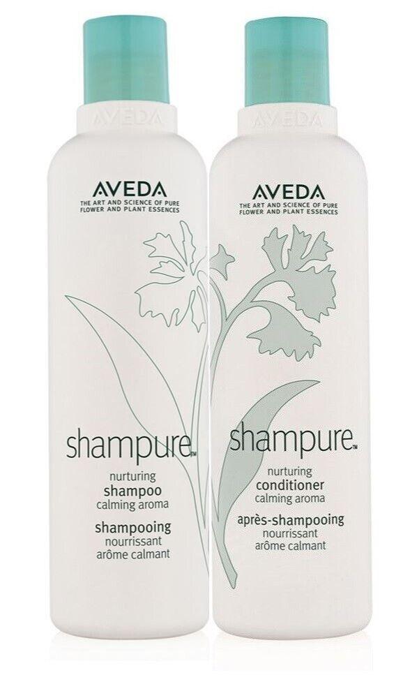 "Aveda shampure shampoo and conditioner ""New Bottle"" 8.5 oz /"
