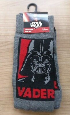 Star Wars Kinder Kleidung (Star Wars Dark Vader Socken---Kinder---Größe: One Size---Disney---TOP!)