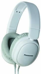 New - PANASONIC NOISE ISOLATION HEADPHONES - INCREDIBLE PURE SOUND WITHOUT BACKGROUND DISTRACTION