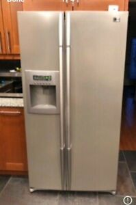LG stainless steel refrigerator  delivery available
