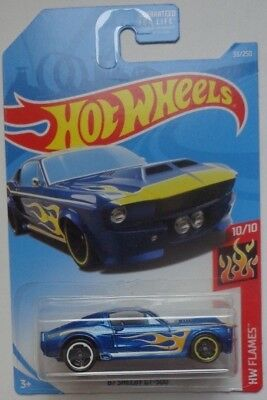 - 2019 Hot Wheels HW GAMES 10/10 '67 Shelby GT-500 33/250