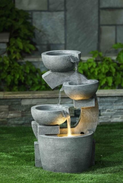 The Oxford Garden Water Feature Fountain Modern Stone Finish Led Self Contained In Lesmahagow South Lanarkshire Gumtree