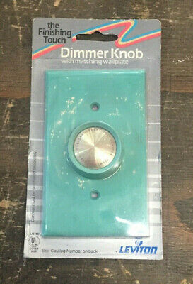 Dimmer Package - Vintage 1970's New In Package Leviton Aqua Dimmer Light Switch