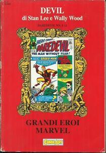 GRANDI EROI MARVEL - DEVIL Volume n° 1 (Comic Art, 1992) - Italia - SI GARANTISCE IL MATERIALE COME DESCRITTO. IL MATERIALE CHE NON RISULTASSE GRADITO POTRÀ ESSERE RESTITUITO PREVIO ACCORDO; IN TAL CASO LE SPESE DI SPEDIZIONE SARANNO A CARICO DEL MITTENTE. - Italia