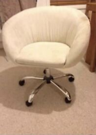 Chairs suede cream
