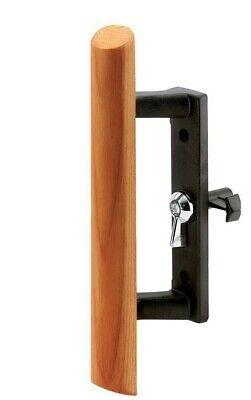 REPLACEMENT C 1095 Sliding Glass PATIO Door Handle INTERIOR PART ONLY BLACK WOOD Sliding Glass Door Replacement