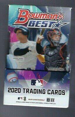 2020 Bowman's Best Baseball Factory Sealed Hobby Box MLB