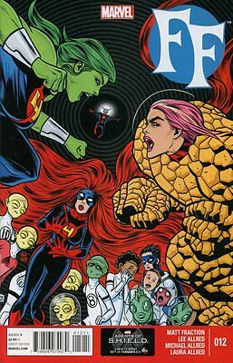 Ff  12 Comic Book Fantastic Four 2013 Now   Marvel