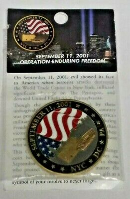 September 11 NYC DC PA Operation Enduring Freedom Challenge -