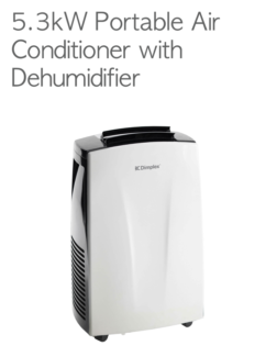 ALL OFFERS CONSIDERED: Keep cool - Dimplex DC18 portable AC