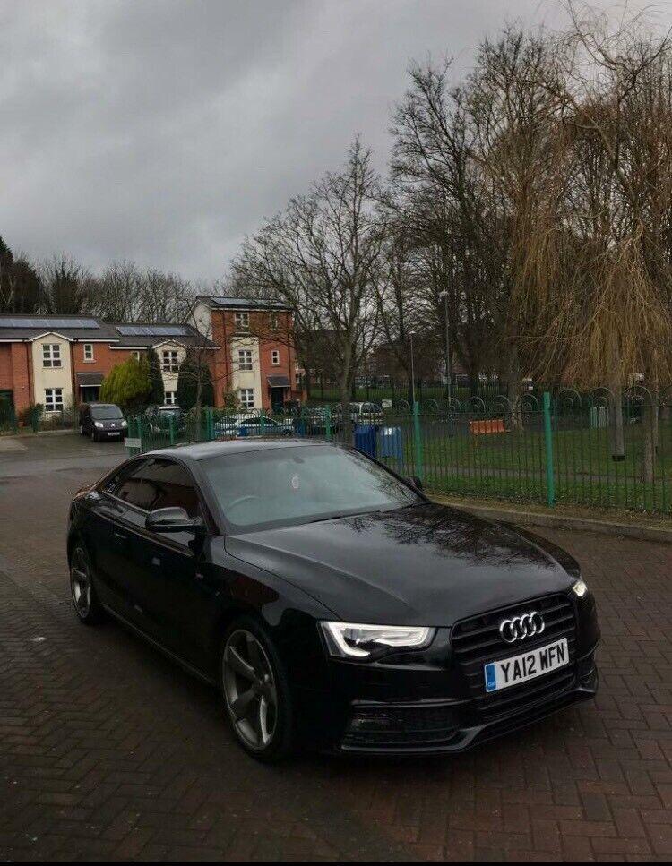 2012 Audi A5 S Line Black Edition Semi Auto 20 Tdi Low Miles In